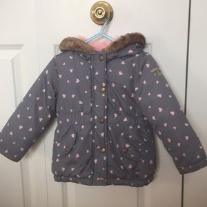 Toddler girl Osh Kosh B'gosh winter coat